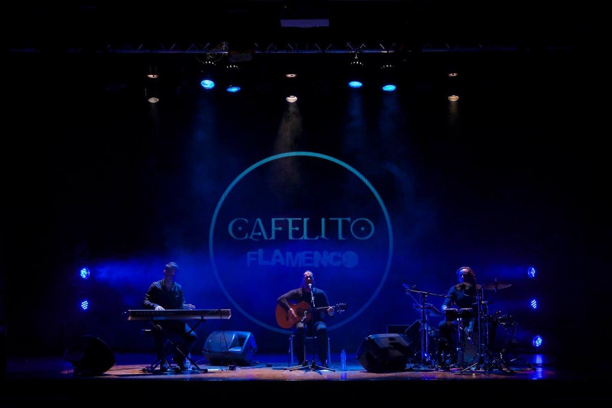 concierto de cafelito flamenco en San Juan de Alicante