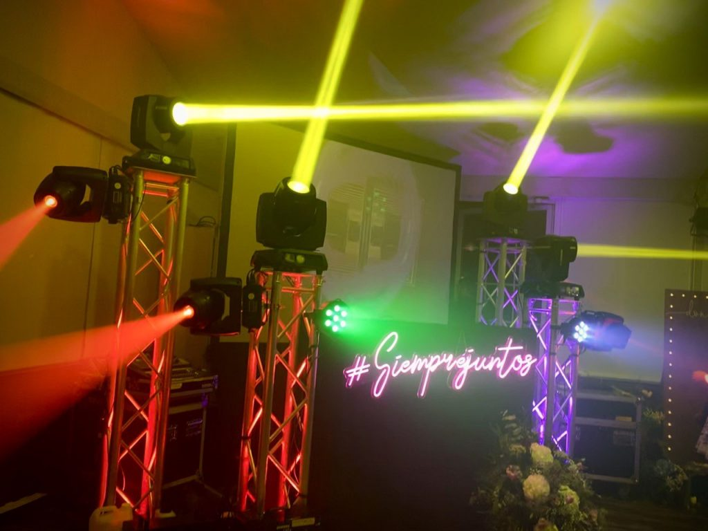 cabina de dj original para bodas en alicante