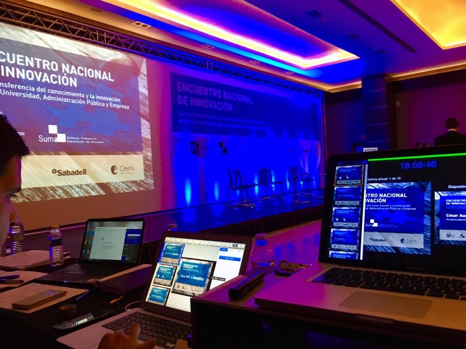 tecnicos audiovisuales en congresos